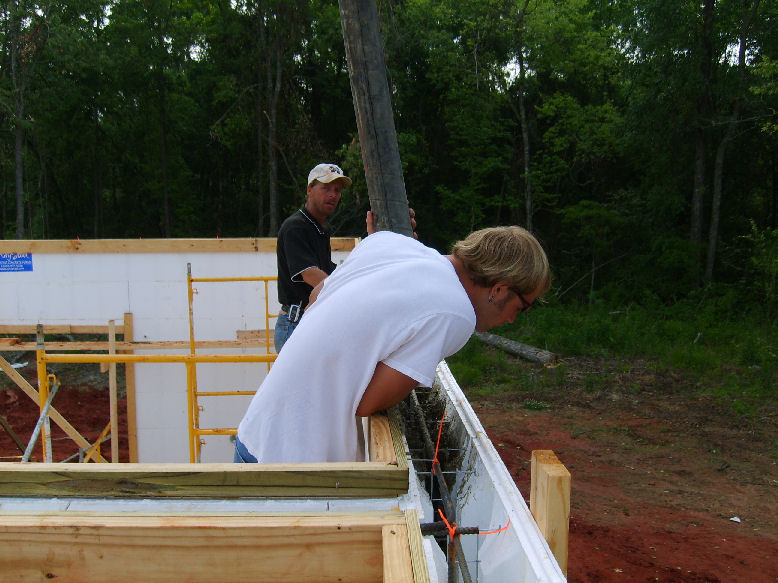 Starkville builders new home construction icf for Icf residential construction